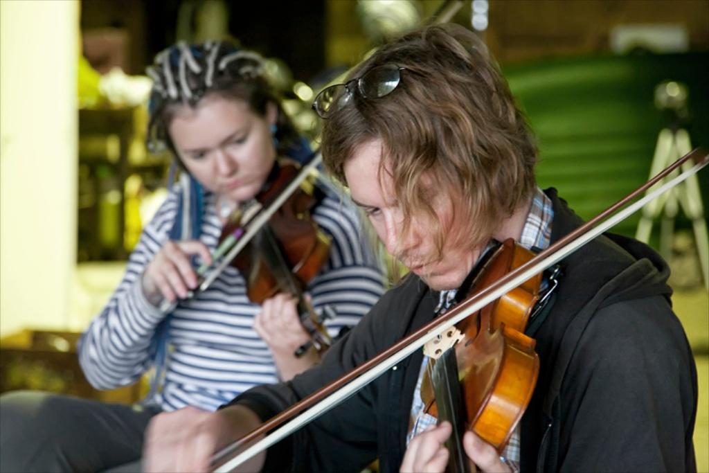 Jorge Boehringer performs in Ireland