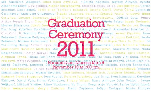 Congratulations to Prague College graduates!