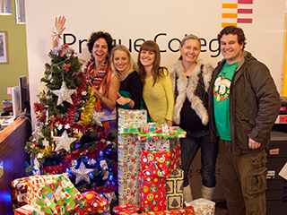 Prague College brings Christmas cheer to local orphanage