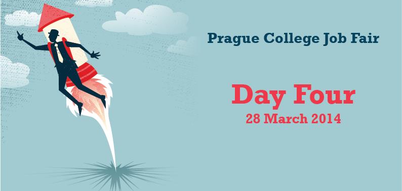 Prague College Job Fair 2014: Day Four