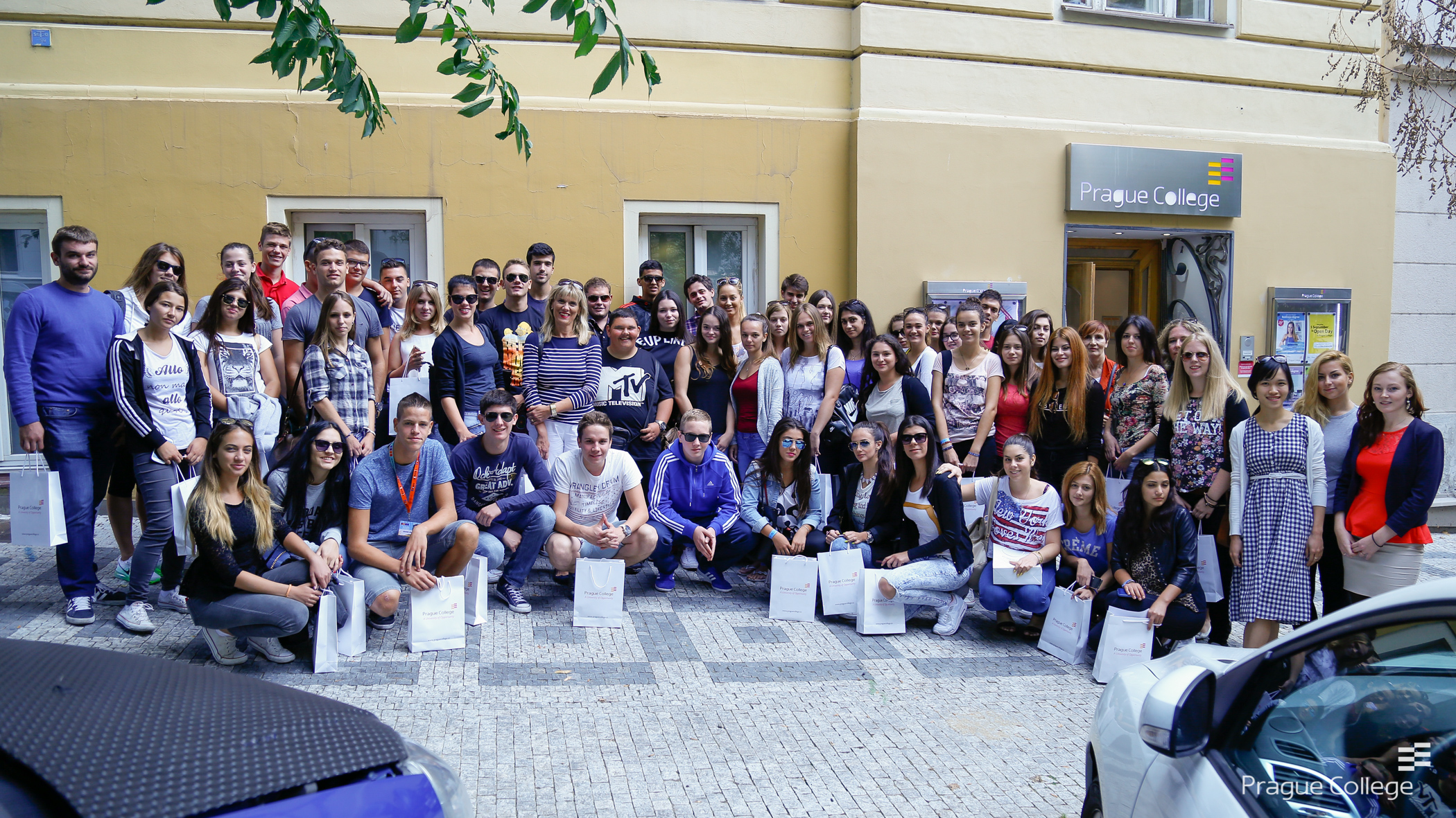Visit of business students from Croatia