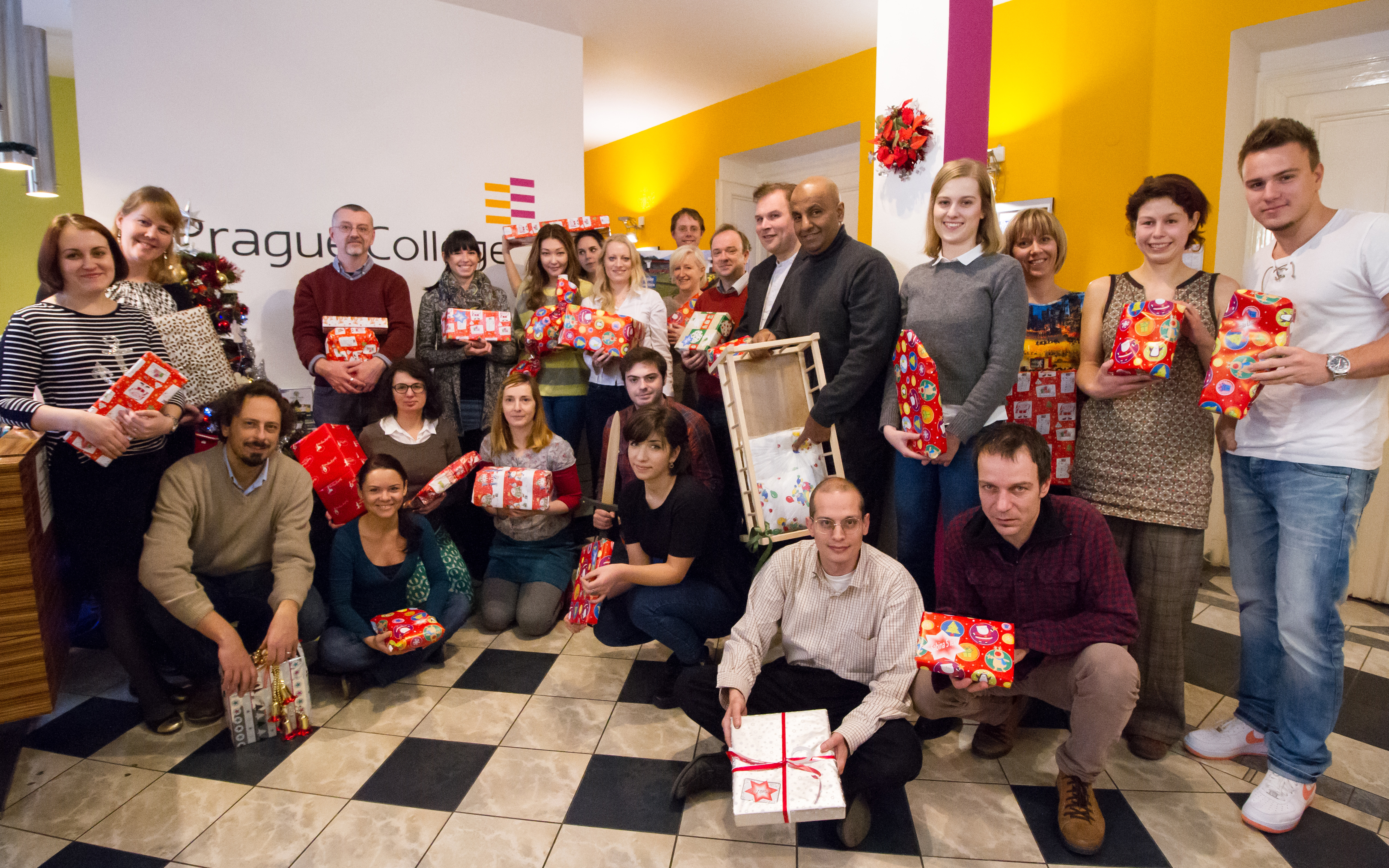 A very happy Christmas from Prague College!