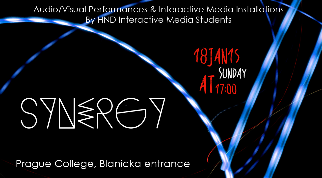 Synergy: audio-visual performances and interactive media installations