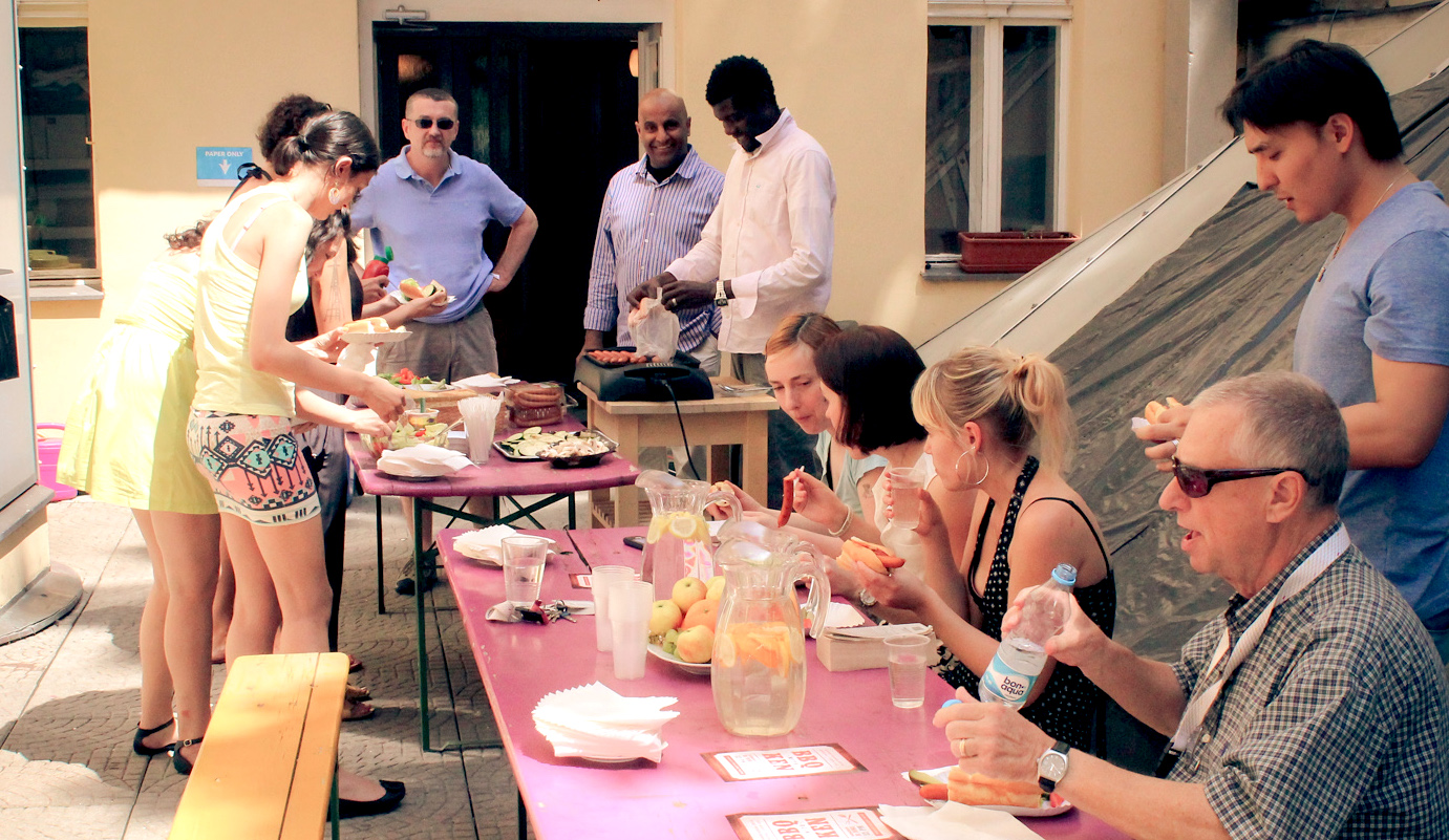 Summer events at Prague City University