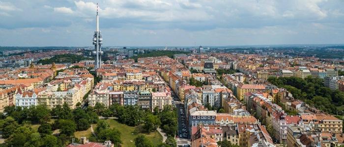 Prague College neighbourhood (photo by college alumni Michal Kroca)