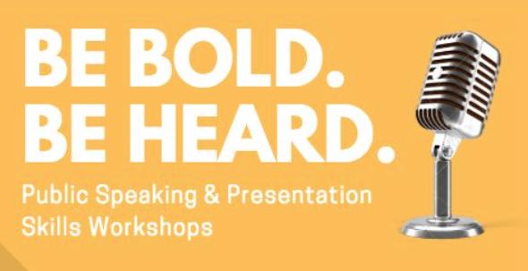 Workshop with Nicole J. Adelman, Public Speaking & Presentations Skills
