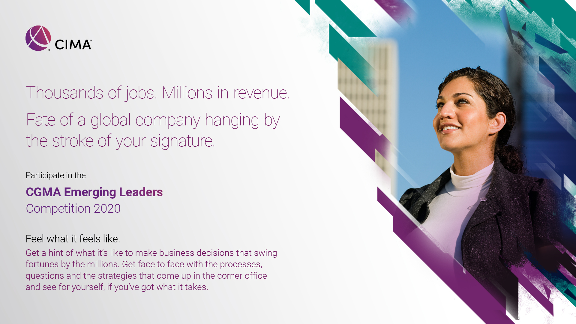 CIMA Emerging Leaders Competition