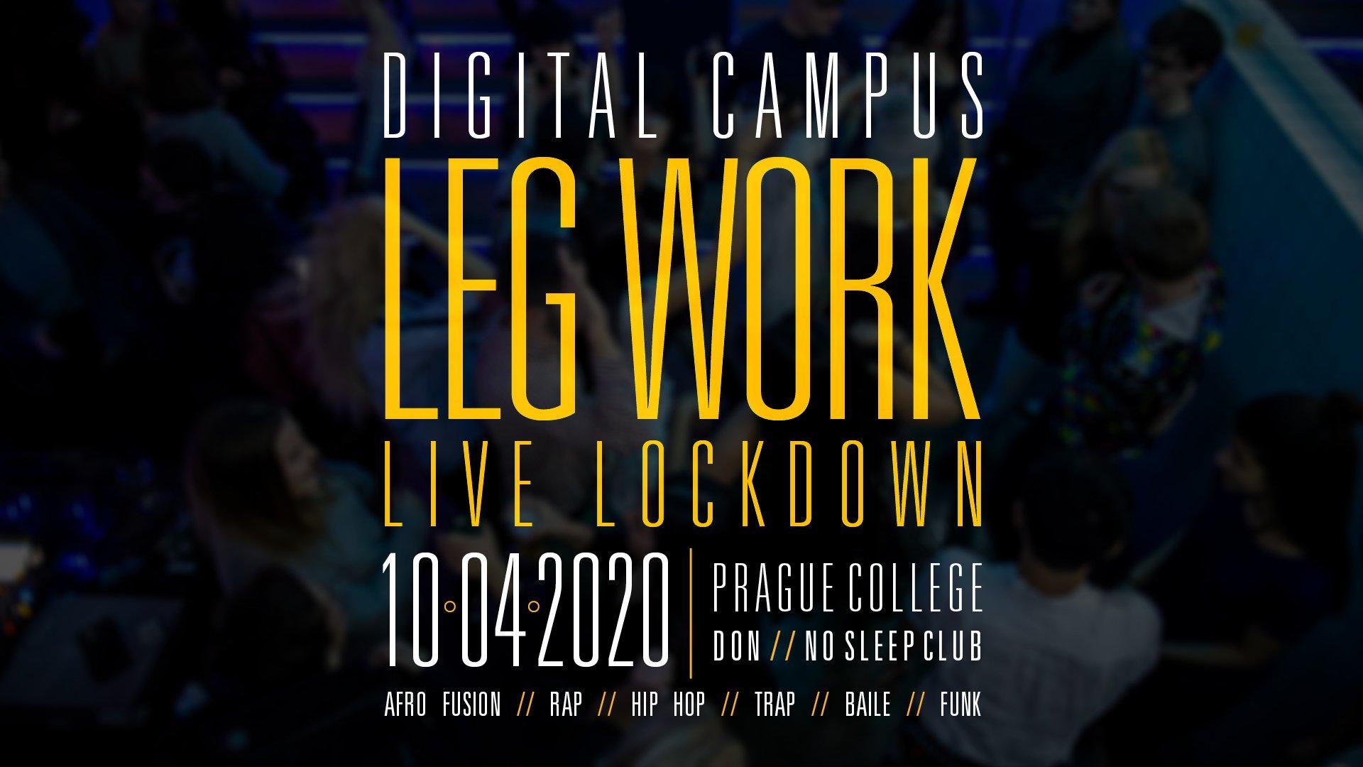 PC Legwork LIVE DJ Party