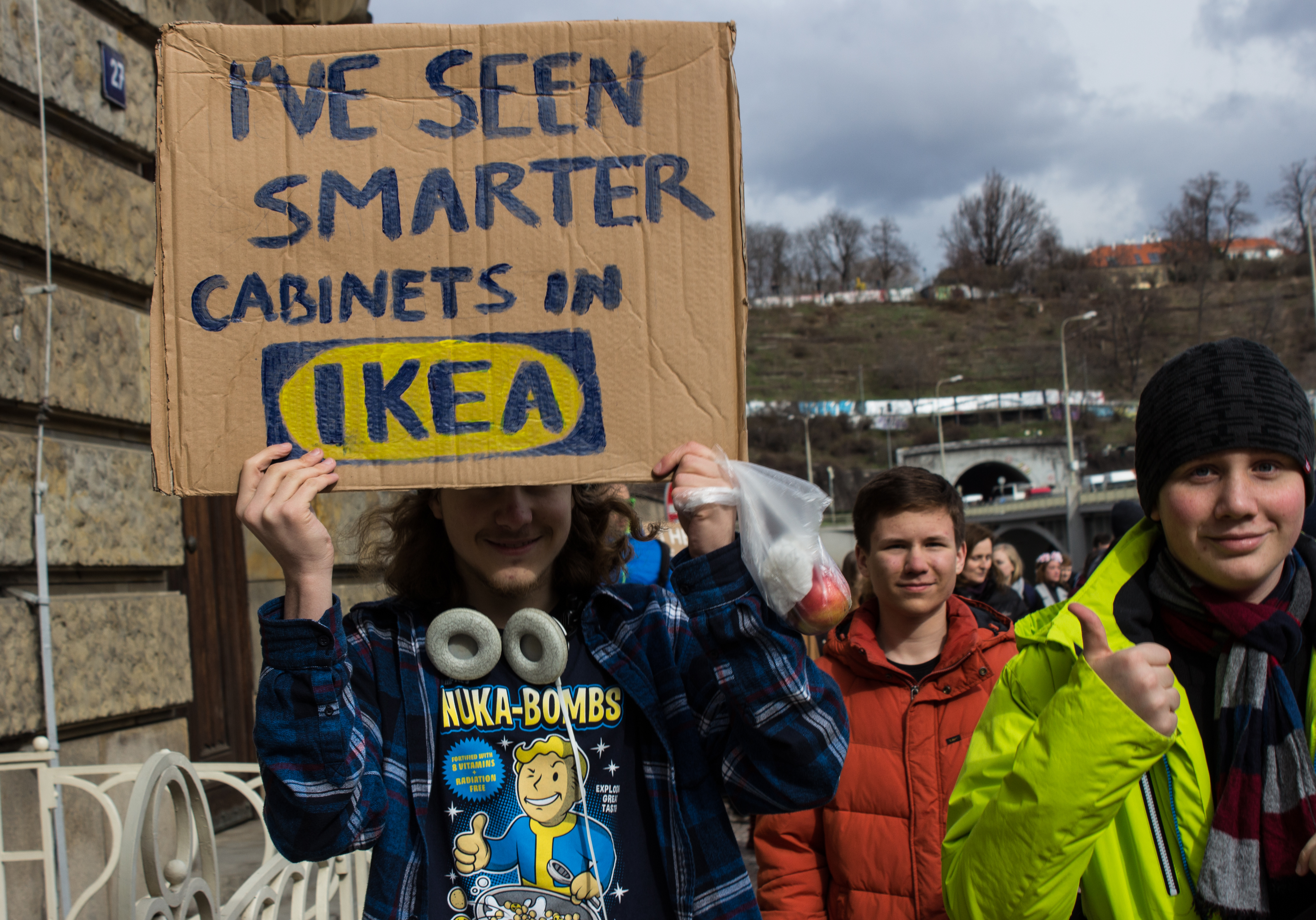 The Signs of Our Time: A Photo-essay on Prague students' Strike for Climate Change
