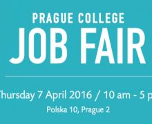 Prague College Job Fair 2016