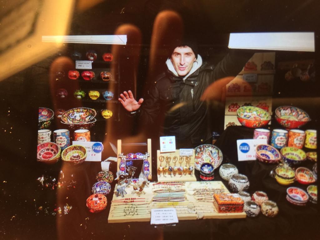 A Taste of Turkey at Prague's Christmas Markets