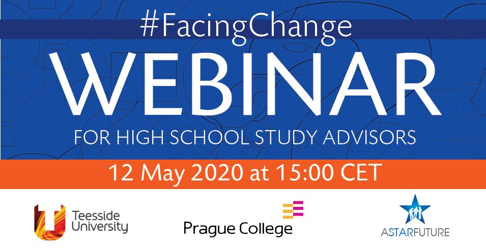 Prague College Webinar for High School Advisors