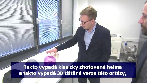 Inventive alumnus featured on Czech Television