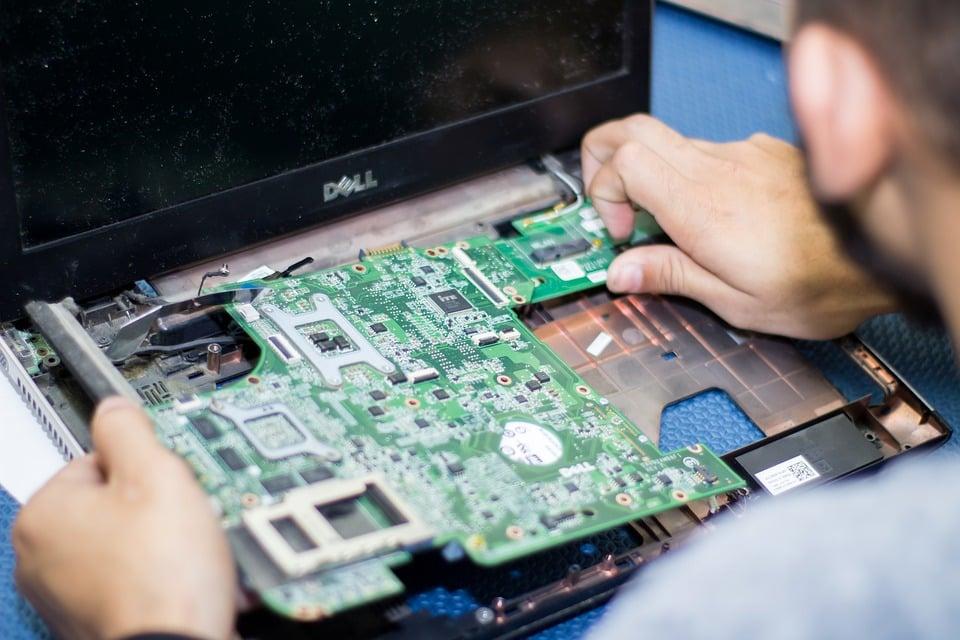 Repairing Unwanted Laptops for Children in Need