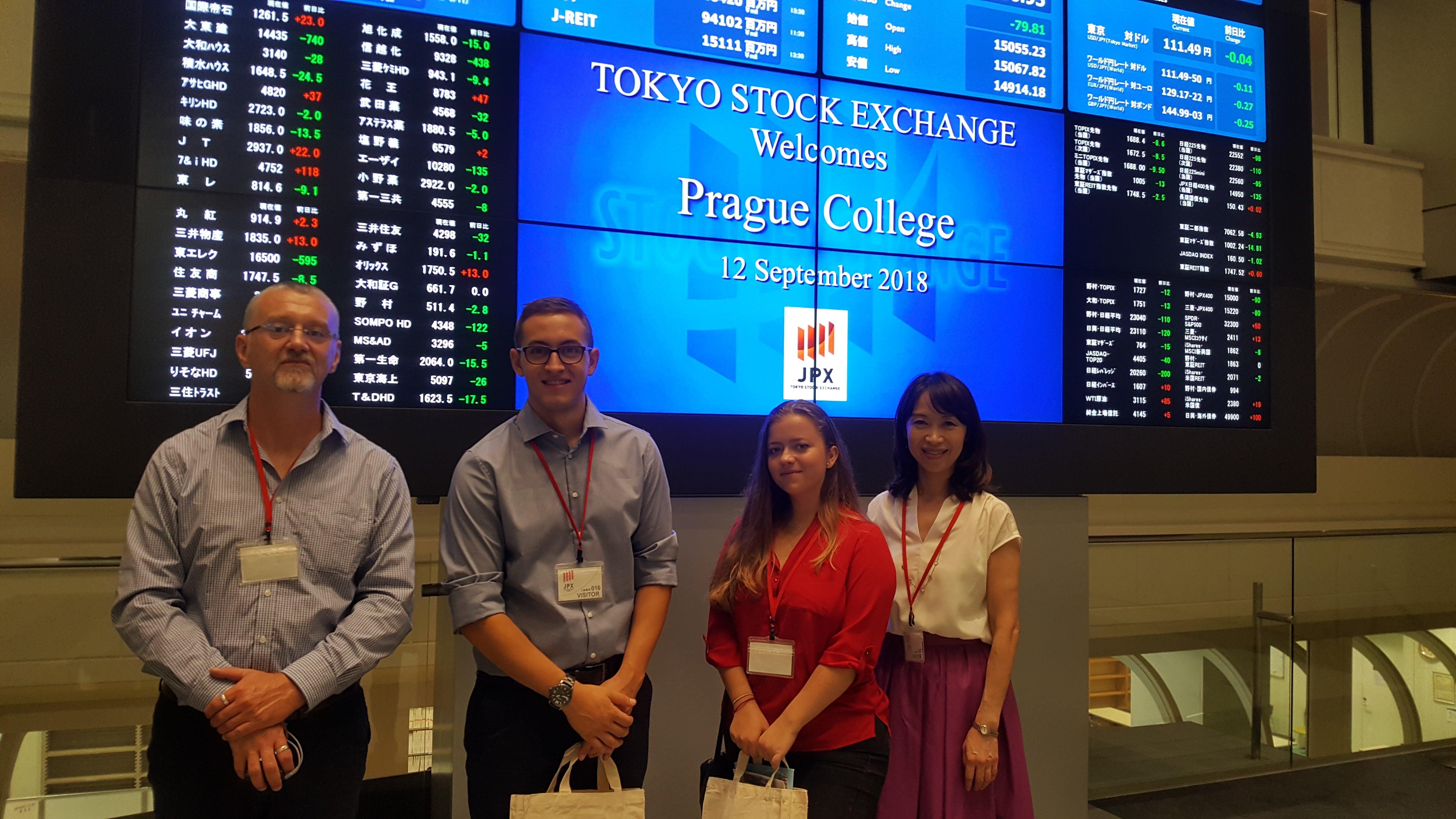 School of Business visit toJapan