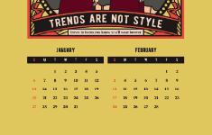 Slow Fashion Calendar 2019