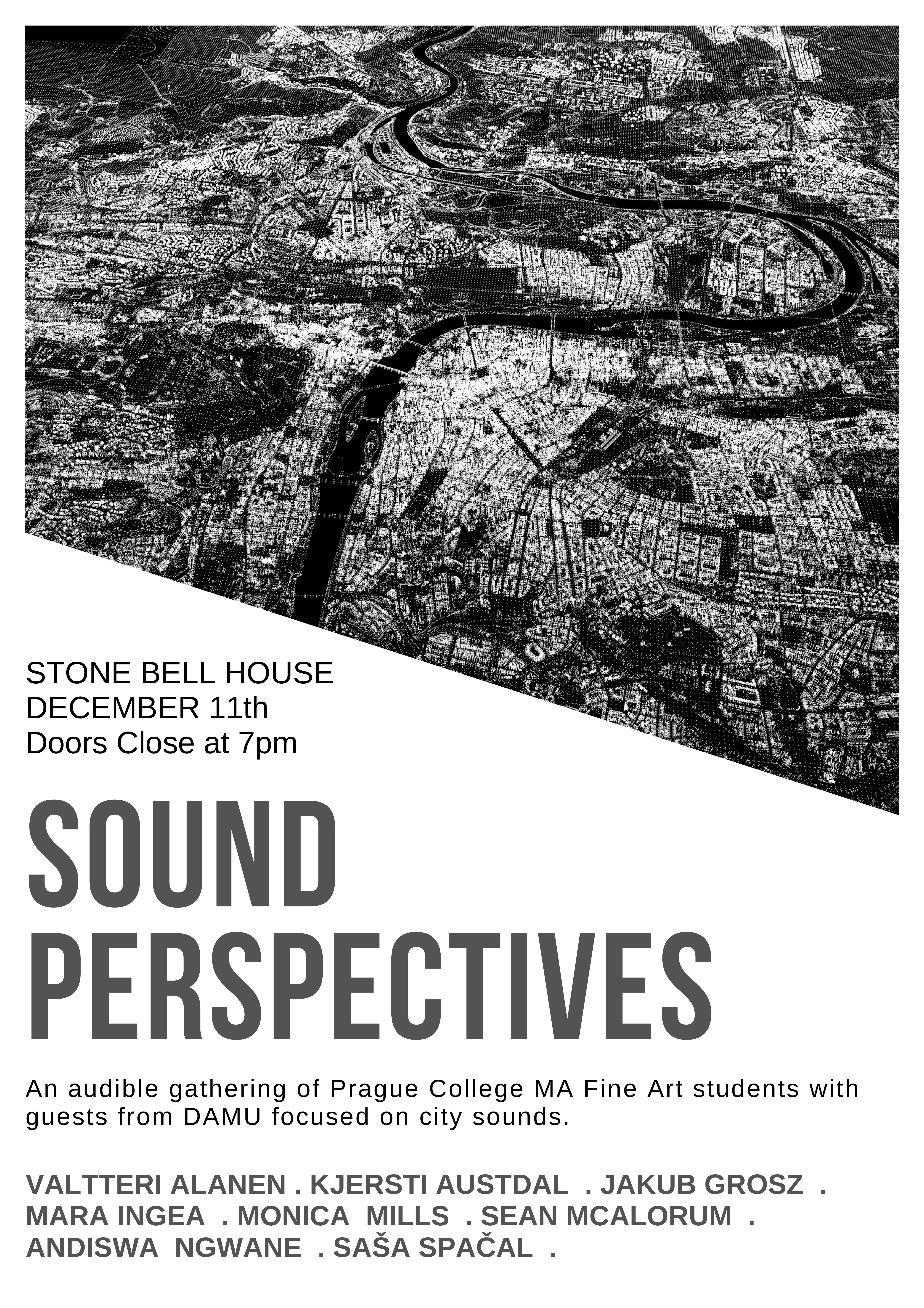 Sound Perspectives - MA Fine Art student performance