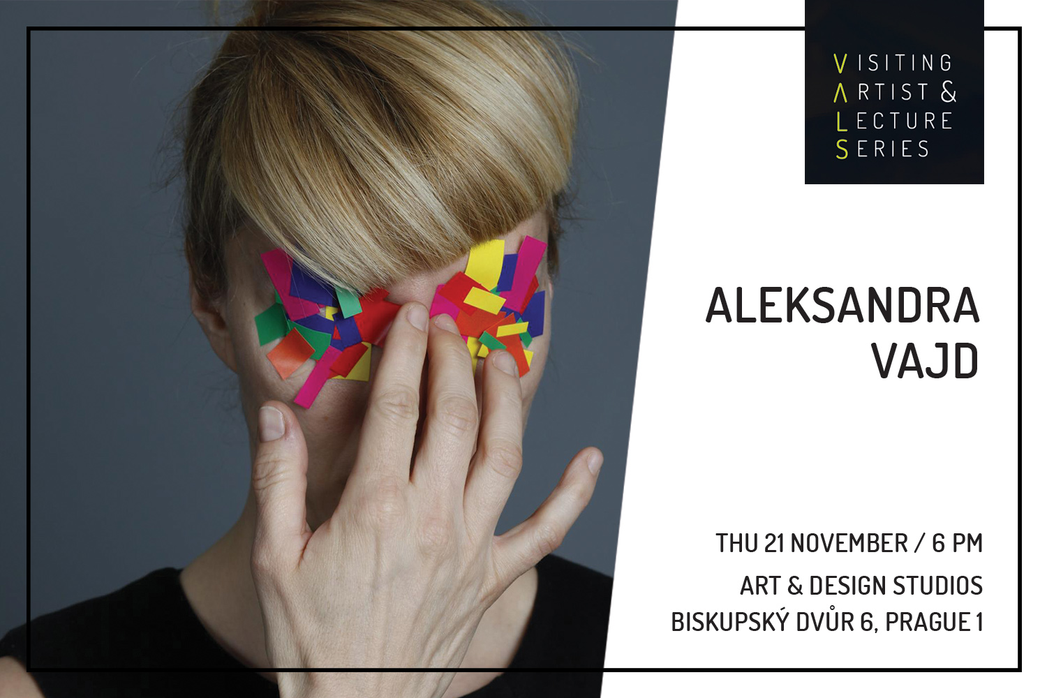 Visiting Artist: Aleksandra Vajd - Ways of Thinking and Working with Photography